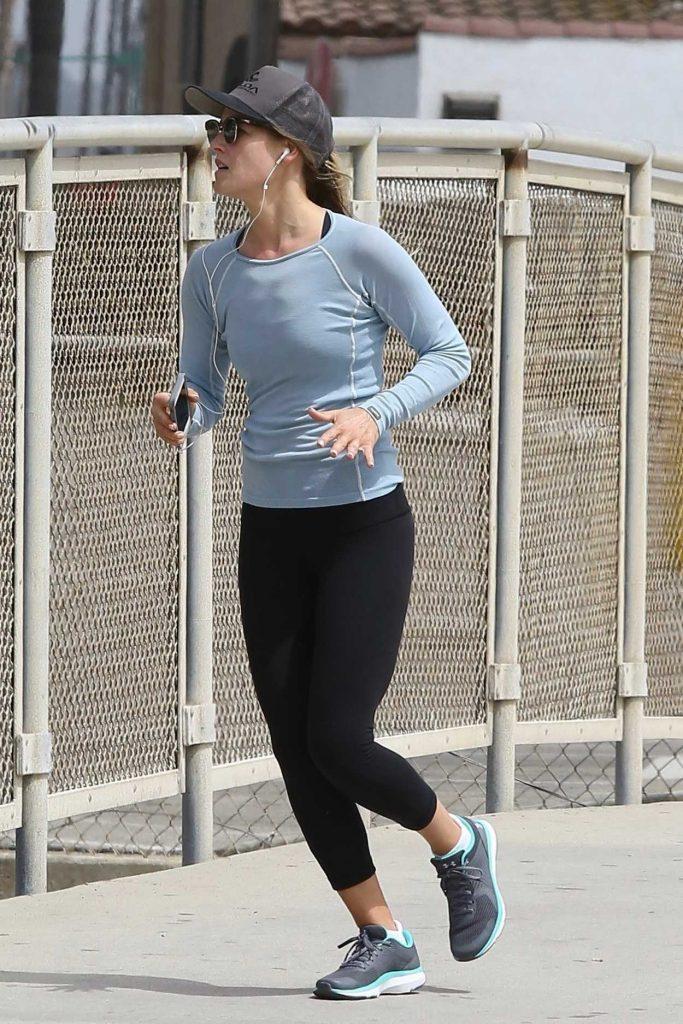 Ali Larter Goes for a Run in Santa Monica 06/19/2017-2