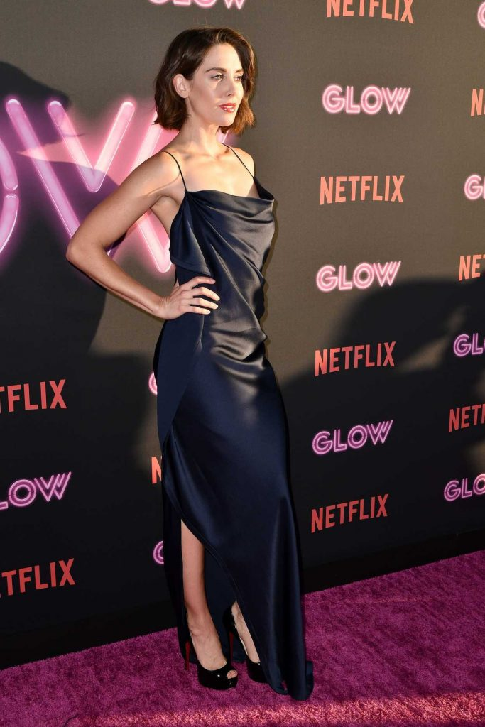 Alison Brie at the GLOW TV Show Premiere in Los Angeles 06/21/2017-2