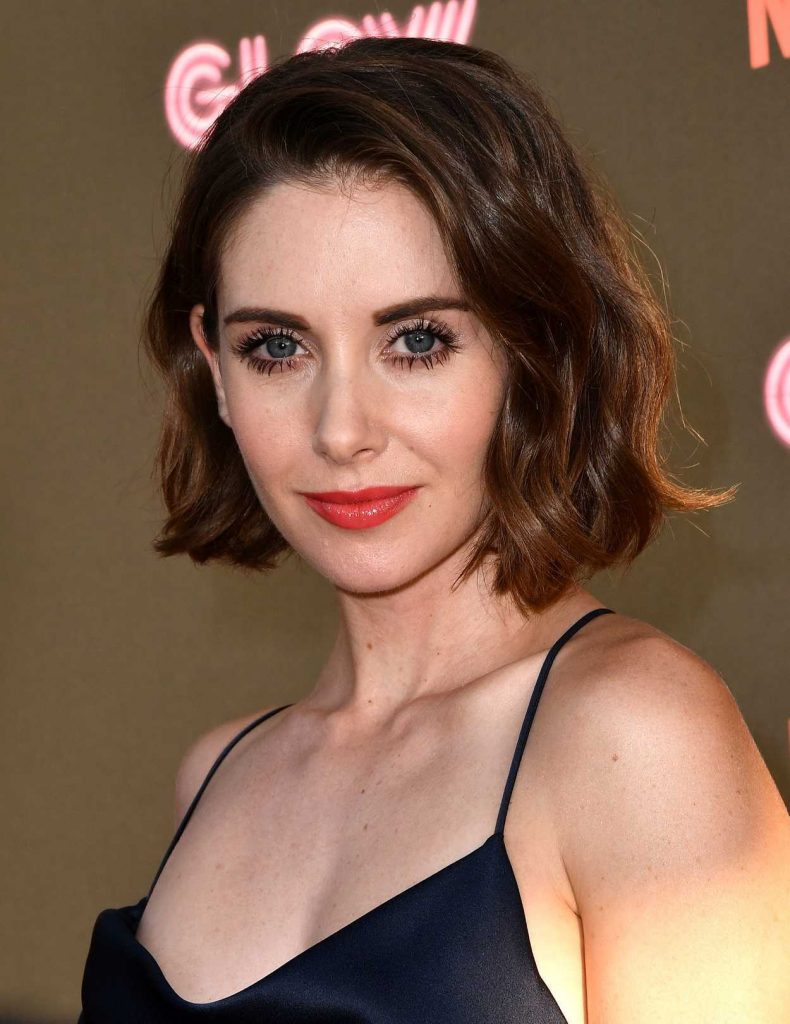 Alison Brie at the GLOW TV Show Premiere in Los Angeles 06/21/2017-5