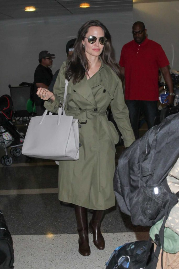 Angelina Jolie Was Seen at the LAX Airport in Los Angeles 06/17/2017-1