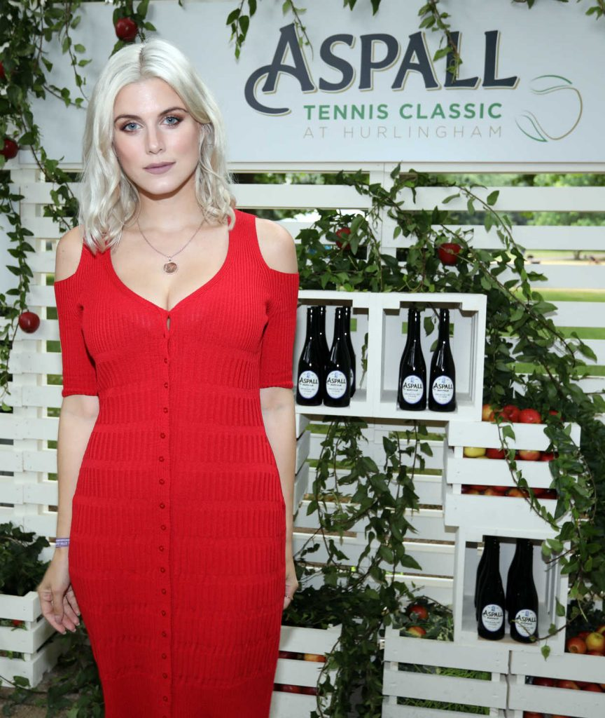 Ashley James at Aspall Tennis Classic at Hurlington Club in London 06/27/2017-3