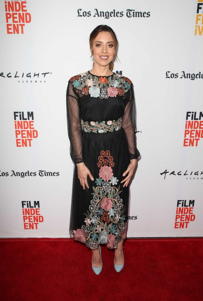 Aubrey Plaza at The Little Hours Screening During the LA Film Festival in Culver City 06/19/2017-1