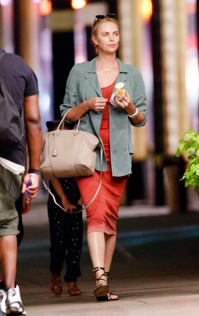 Charlize Theron Was Seen Out in New York 06/25/2017-1