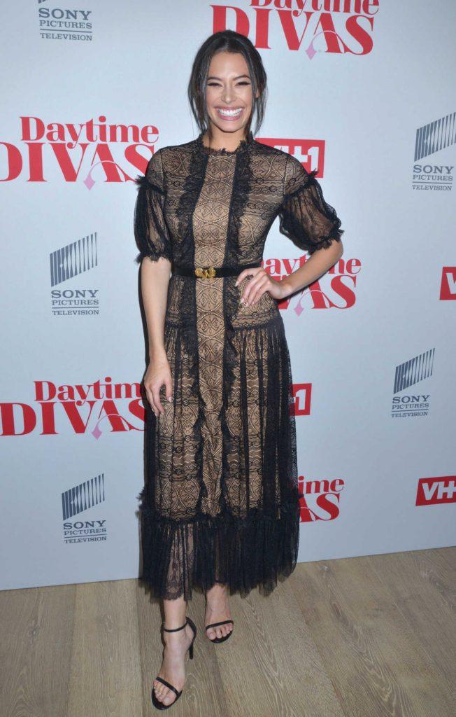 Chloe Bridges at the Daytime Divas Premiere Event in New York City 06/01/2017-2