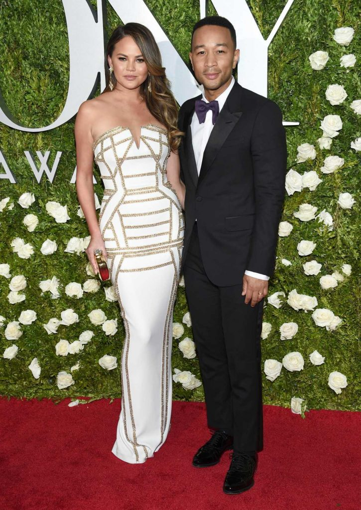 Chrissy Teigen at the 71st Annual Tony Awards at Radio City Music Hall in New York 06/11/2017-2