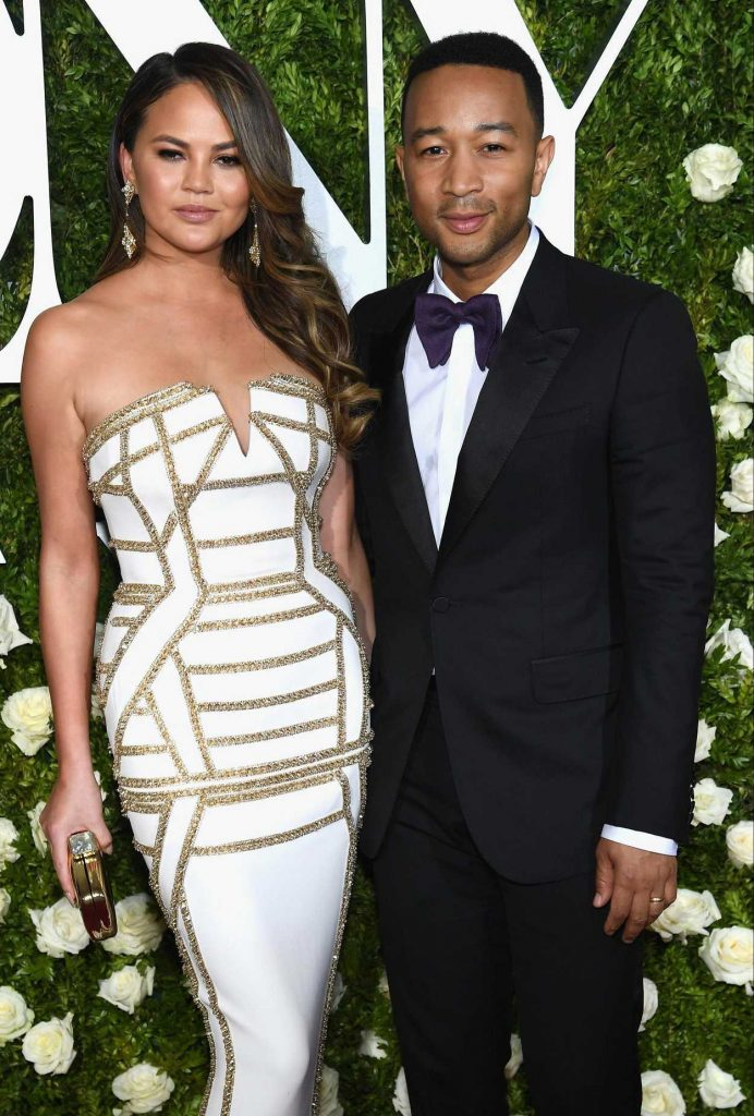 Chrissy Teigen at the 71st Annual Tony Awards at Radio City Music Hall in New York 06/11/2017-3