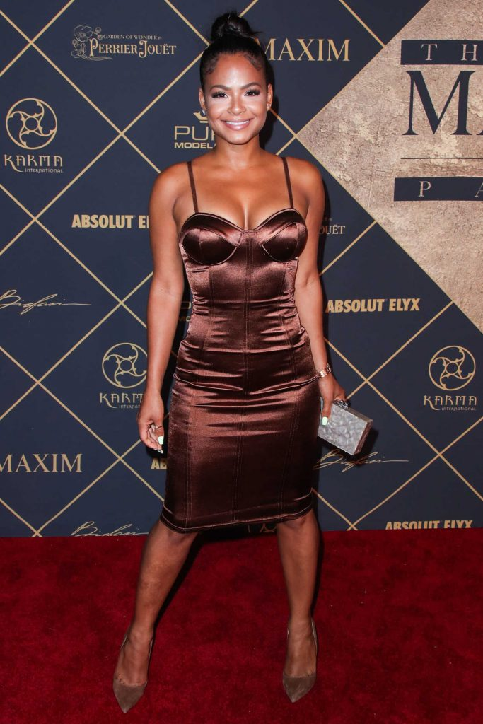 Christina Milian Arrives to The Maxim Hot 100 Event in Hollywood 06/24/2017-1