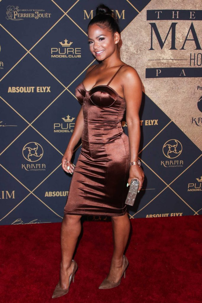 Christina Milian Arrives to The Maxim Hot 100 Event in Hollywood 06/24/2017-2