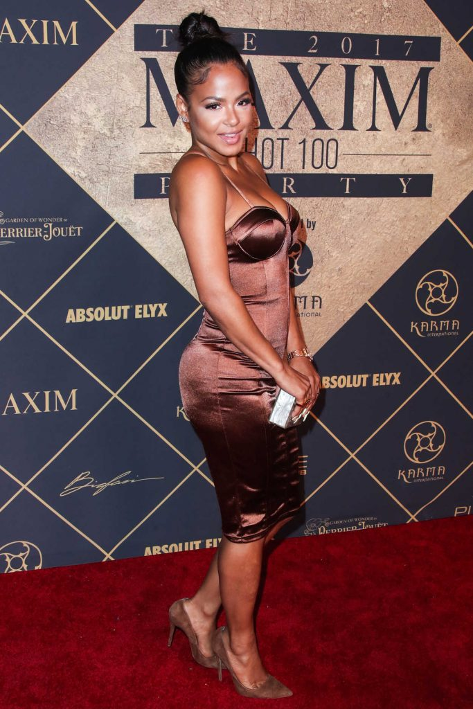 Christina Milian Arrives to The Maxim Hot 100 Event in Hollywood 06/24/2017-3