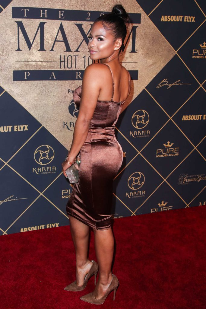 Christina Milian Arrives to The Maxim Hot 100 Event in Hollywood 06/24/2017-4