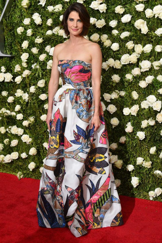 Cobie Smulders at the 71st Annual Tony Awards at Radio City Music Hall in New York 06/11/2017-1