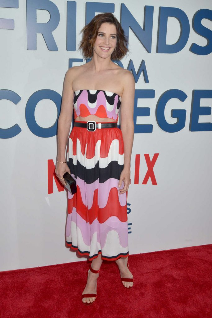 Cobie Smulders at the Friends From College TV Show Premiere in New York 06/26/2017-1