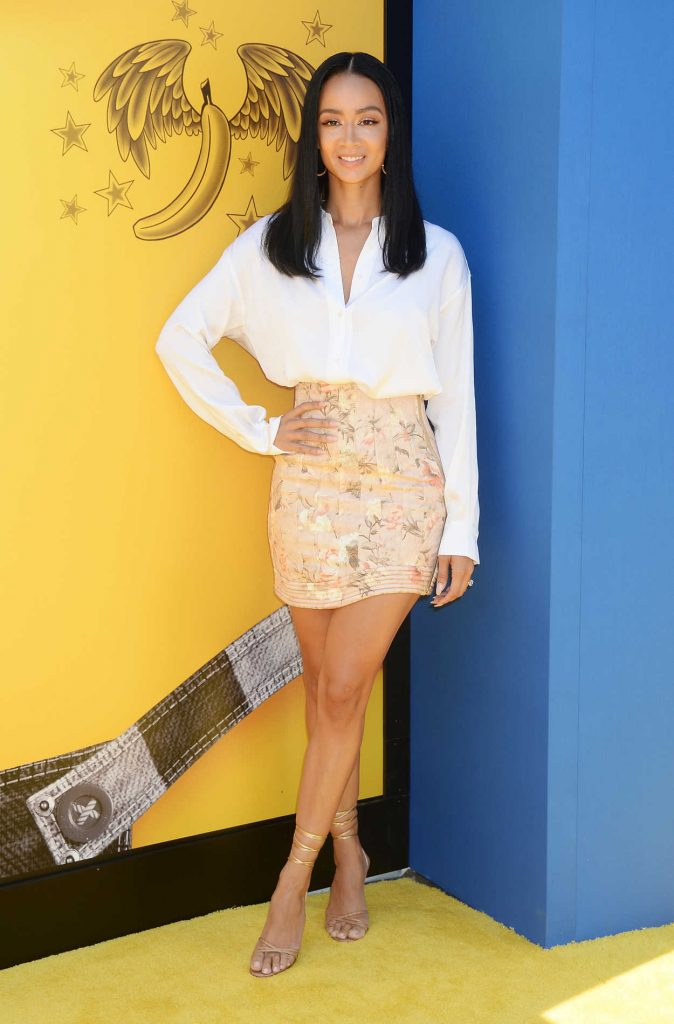 Draya Michele at the Despicable Me 3 Premiere in Los Angeles 06/24/2017-1
