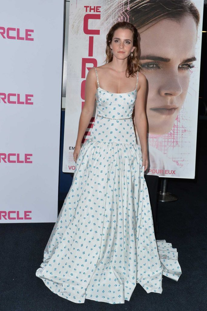 Emma Watson Attends The Circle Premiere at Cinema UGC Normandie in Paris 06/21/2017-1