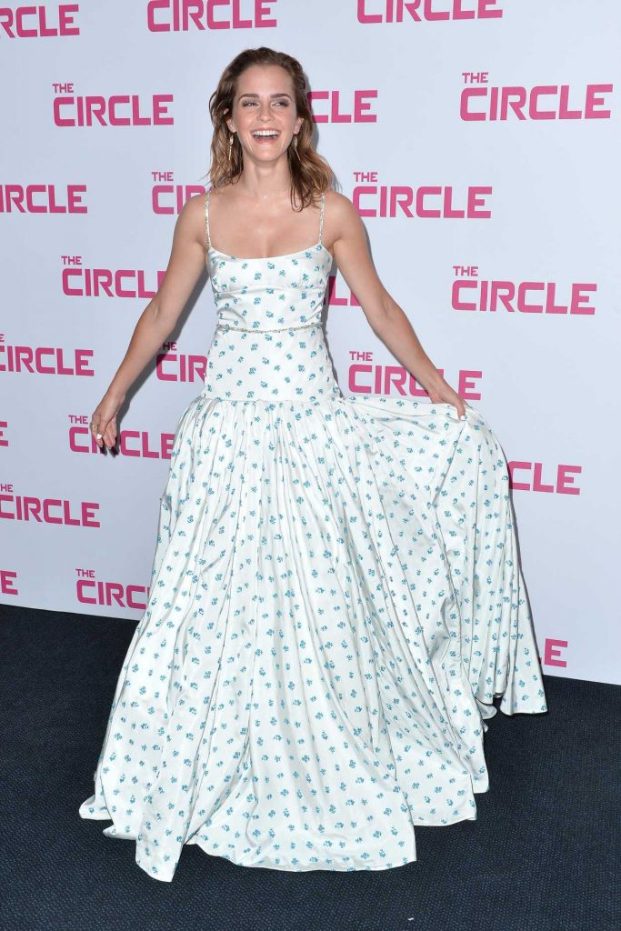 Emma Watson Attends The Circle Premiere at Cinema UGC Normandie in Paris 06/21/2017-3