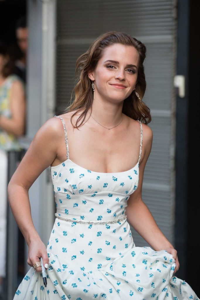 Emma Watson Attends The Circle Premiere at Cinema UGC Normandie in Paris 06/21/2017-4
