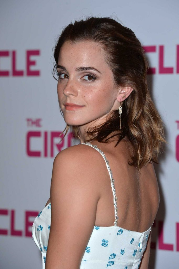 Emma Watson Attends The Circle Premiere at Cinema UGC Normandie in Paris 06/21/2017-5