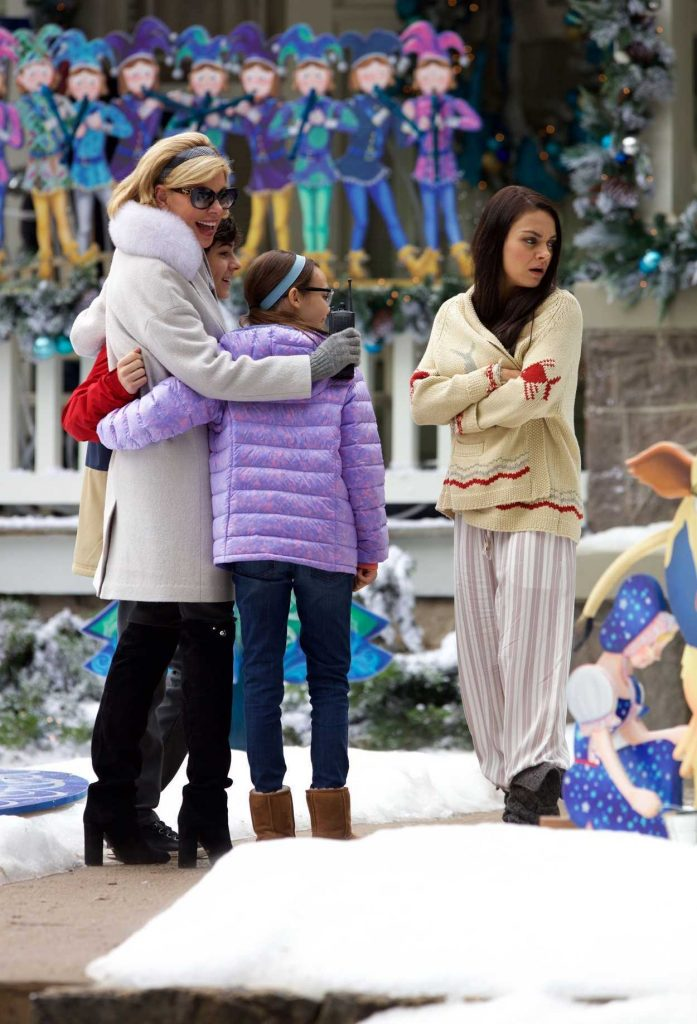 Mila Kunis on the Set of A Bad Moms Christmas in Atlanta 05/31/2017-3