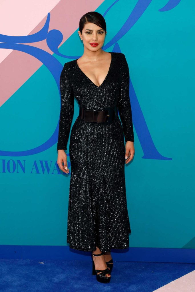 Priyanka Chopra at the CFDA Fashion Awards in New York 06/05/2017-1