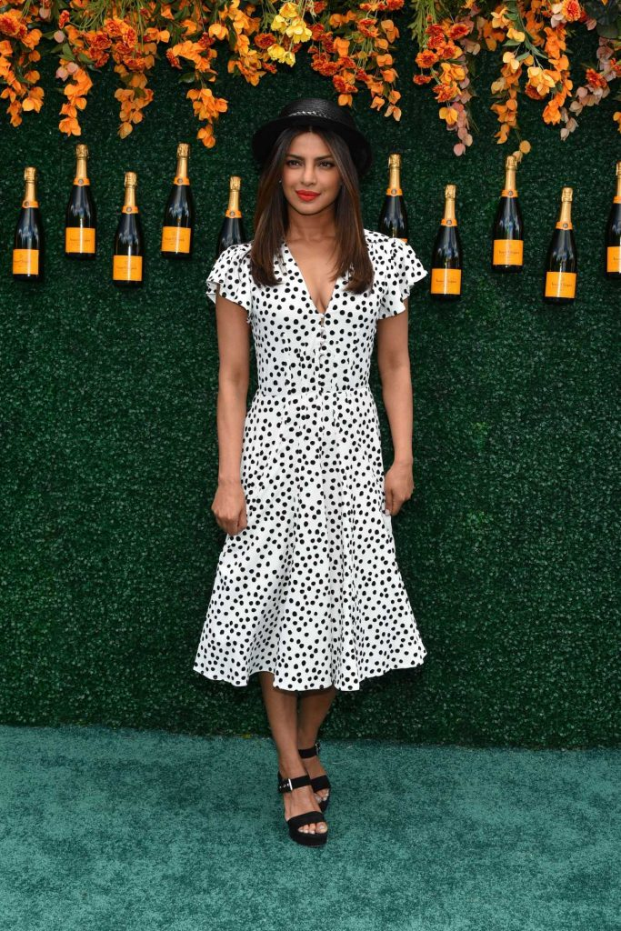 Priyanka Chopra at the Veuve Cliquot Polo Classic in Jersey City 06/03/2017-1