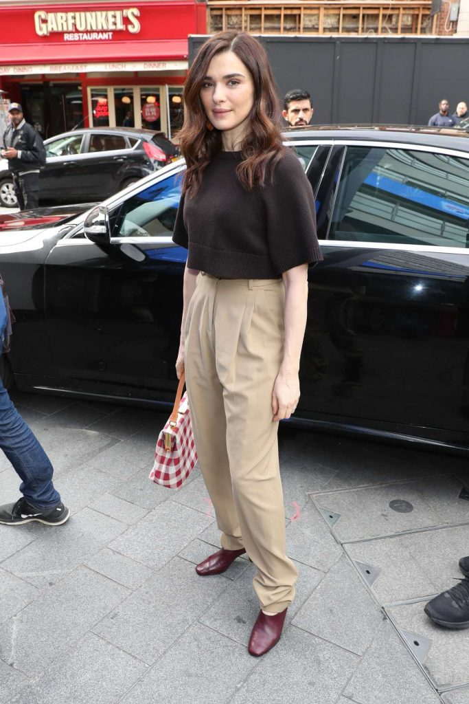 Rachel Weisz Arrives at AOL Build LDN in London 06/08/2017-1