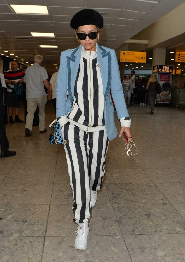 Rita Ora Arrives at Heathrow Airport in London 06/14/2017-4