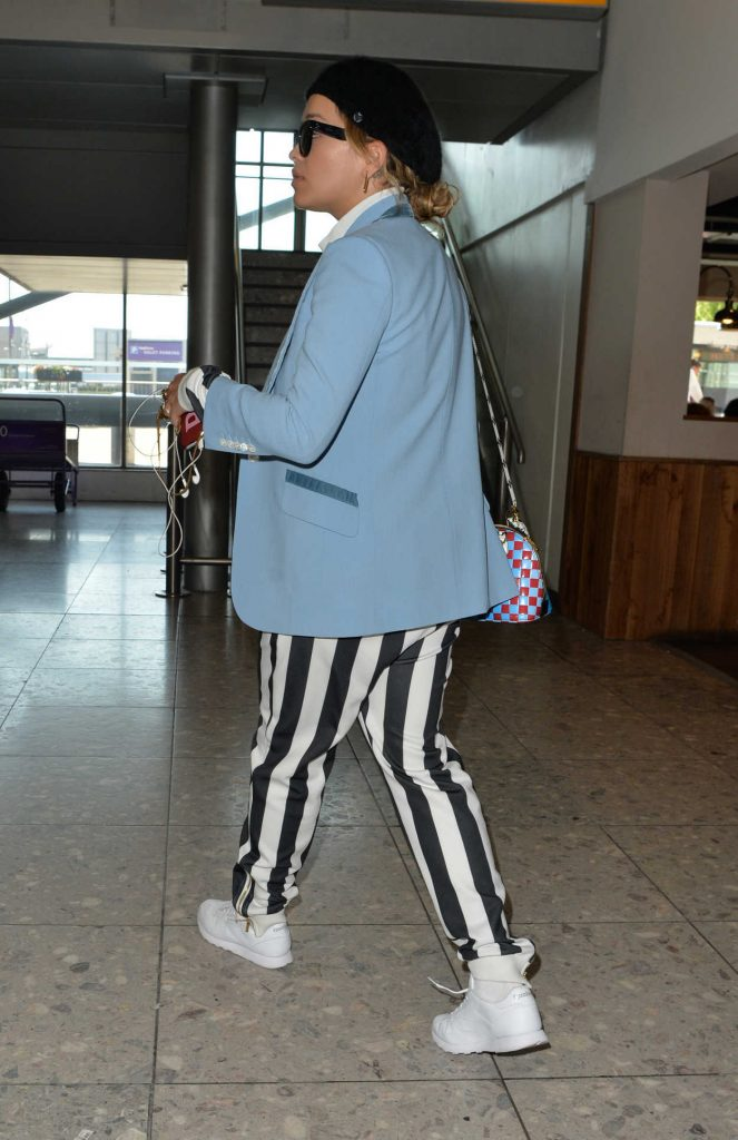 Rita Ora Arrives at Heathrow Airport in London 06/14/2017-5