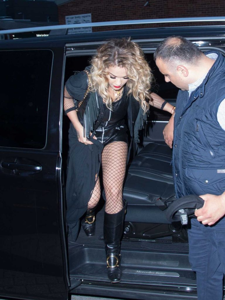 Rita Ora Flies From London to Glastonbury by Helicopter 06/23/2017-1