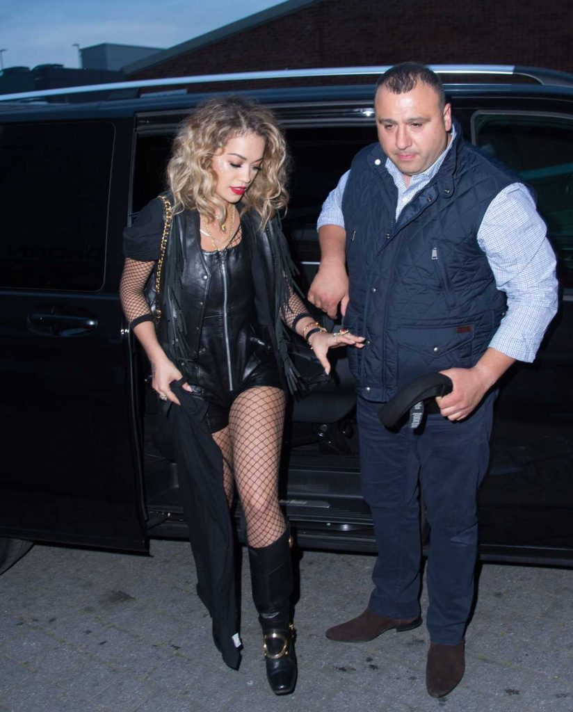 Rita Ora Flies From London to Glastonbury by Helicopter 06/23/2017-2