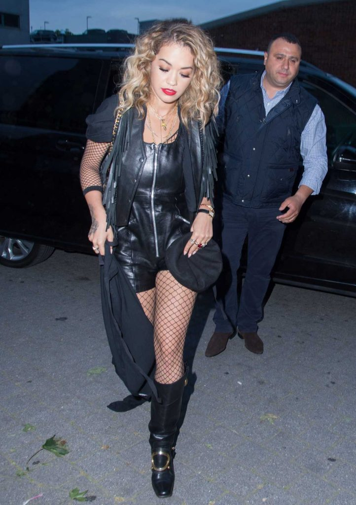 Rita Ora Flies From London to Glastonbury by Helicopter 06/23/2017-3