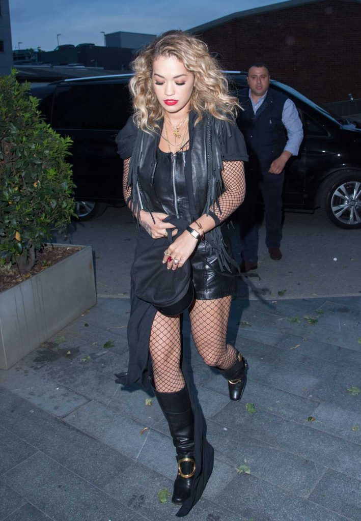 Rita Ora Flies From London to Glastonbury by Helicopter 06/23/2017-4