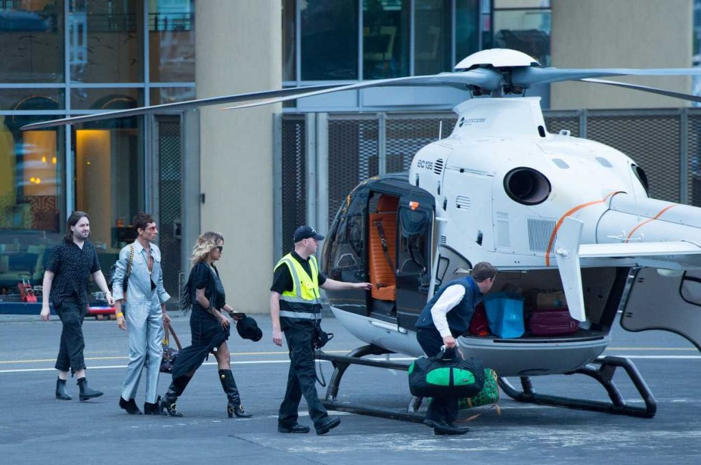 Rita Ora Flies From London to Glastonbury by Helicopter 06/23/2017-5