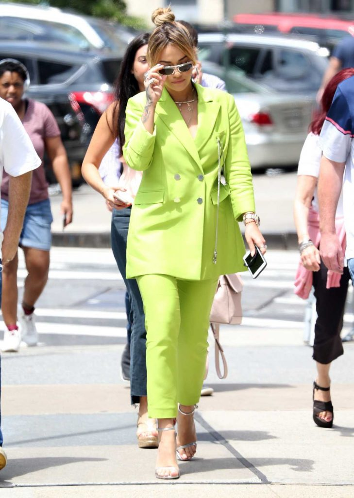 Rita Ora Was Seen Out in New York City 06/18/2017-2