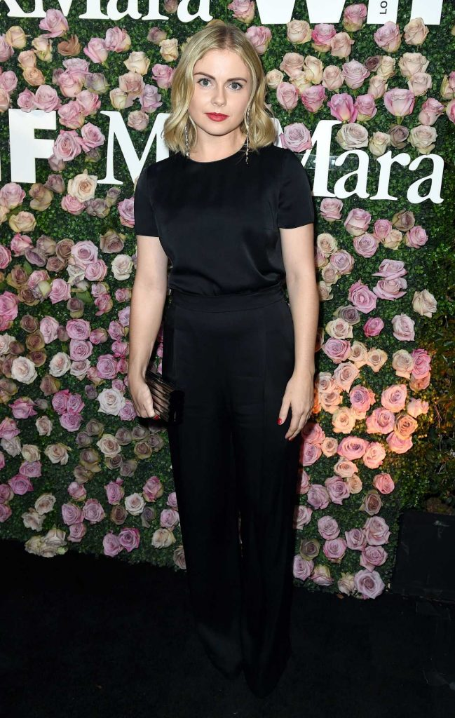 Rose McIver at the 2017 Women in Film Max Mara Face of the Future Awards in Los Angeles 06/12/2017-1