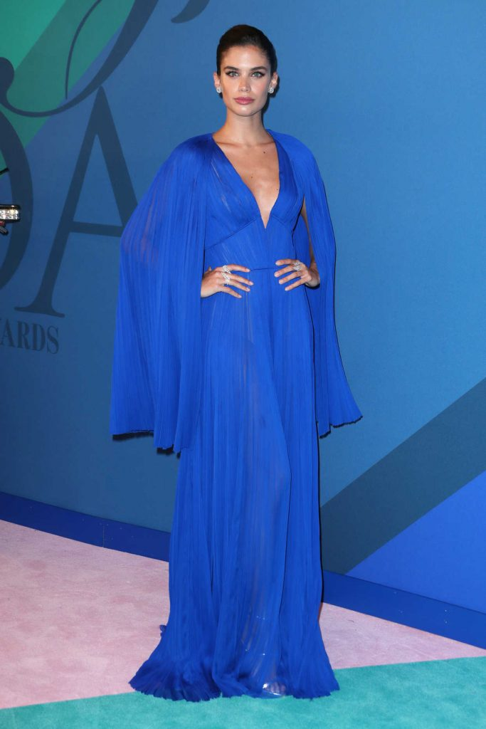 Sara Sampaio at the CFDA Fashion Awards in New York 06/05/2017-1