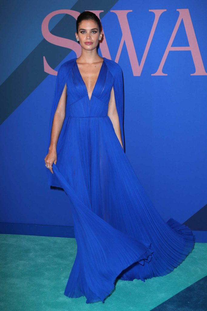 Sara Sampaio at the CFDA Fashion Awards in New York 06/05/2017-2