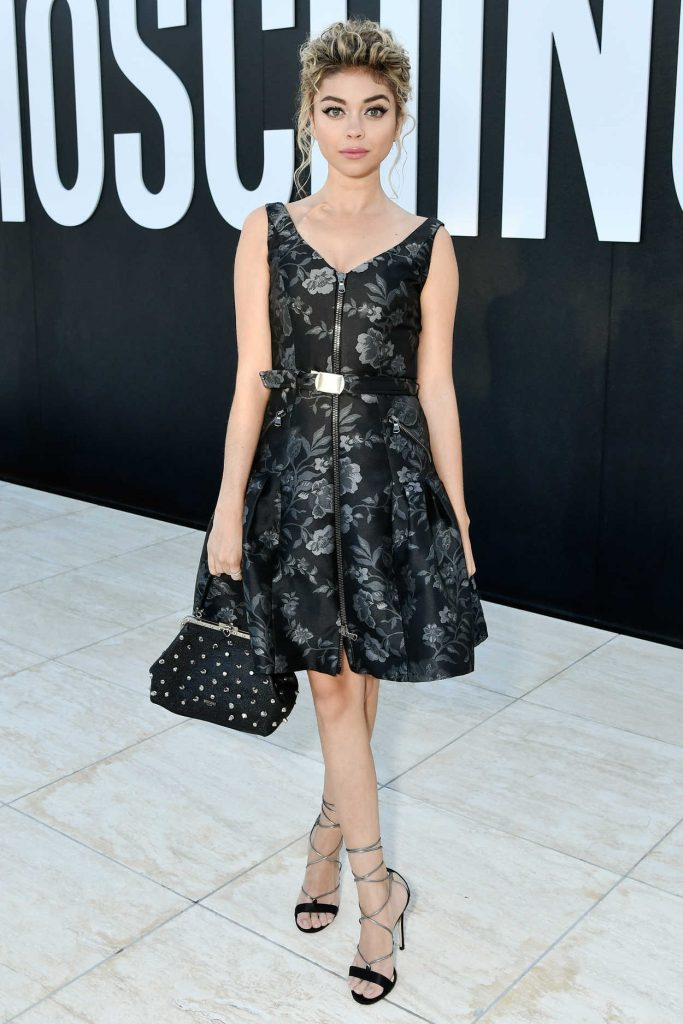Sarah Hyland at the Moschino 2018 Menswear and Women's Resort Collection Presentation in Los Angeles 06/08/2017-1