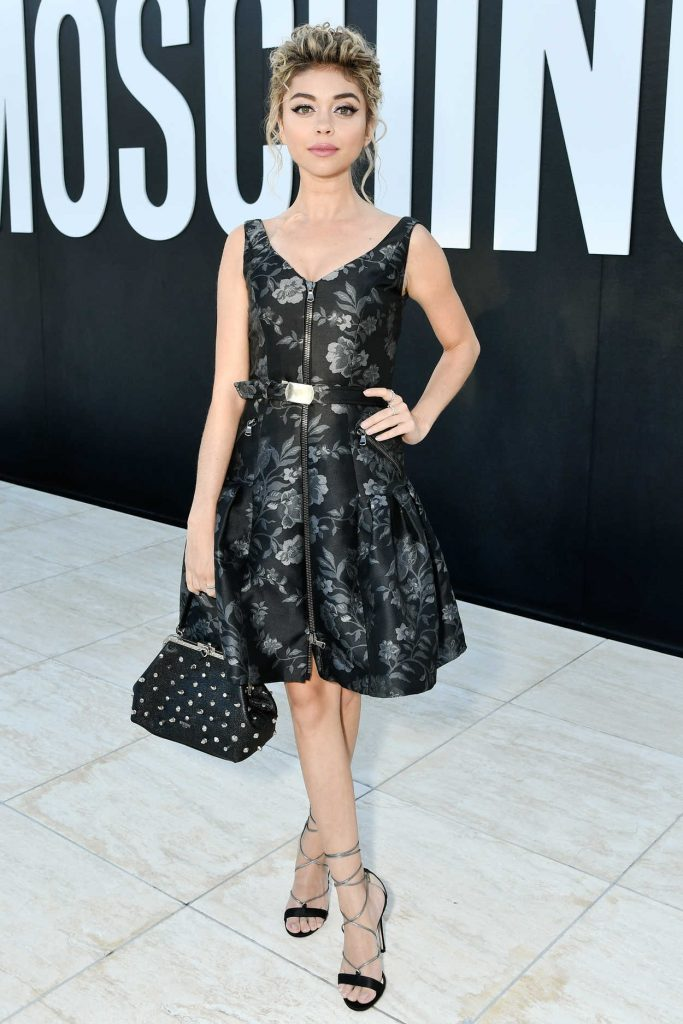 Sarah Hyland at the Moschino 2018 Menswear and Women's Resort Collection Presentation in Los Angeles 06/08/2017-3