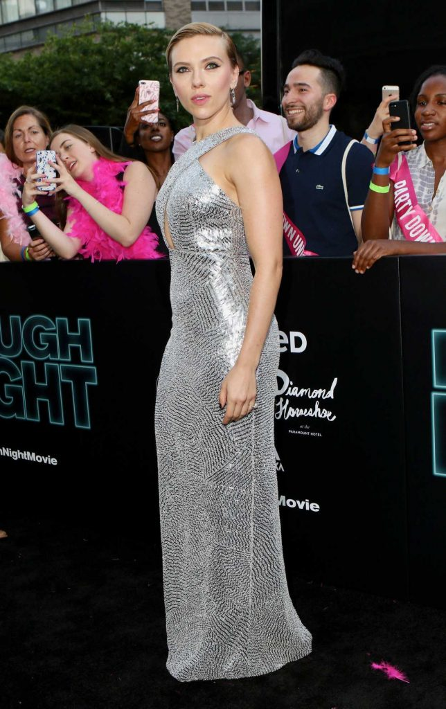 Scarlett Rough Night Premiere In New York City Xxnx 1