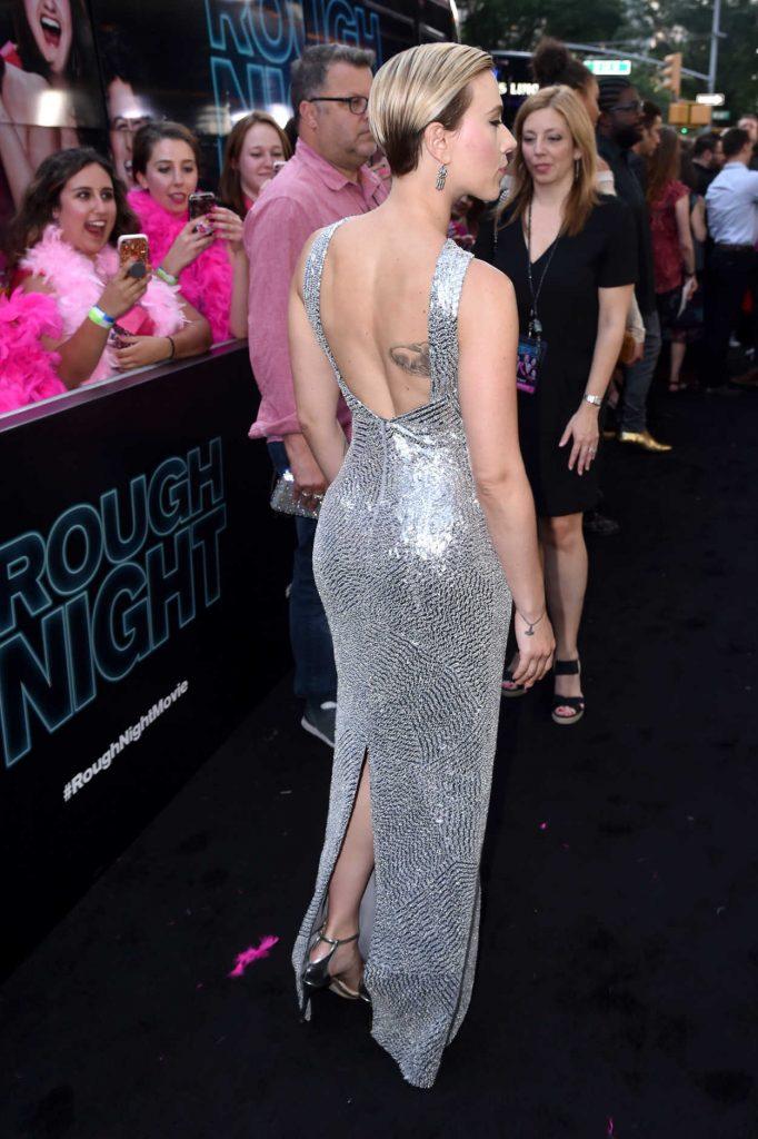 Scarlett Johansson at the Rough Night Premiere in New York City 06/12/2017-3