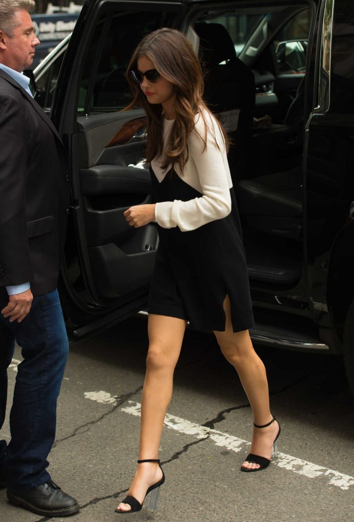 Selena Gomez Visits the SiriusXM Studios in New York 06/05/2017-1