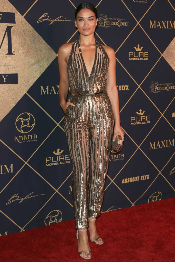 Shanina Shaik Arrives to The Maxim Hot 100 Event in Hollywood 06/24/2017-1