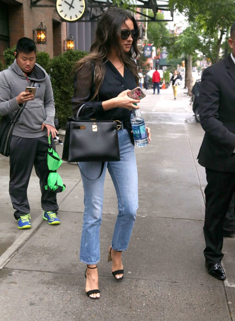 Shay Mitchell Was Seen Out in NYC 06/06/2017-2
