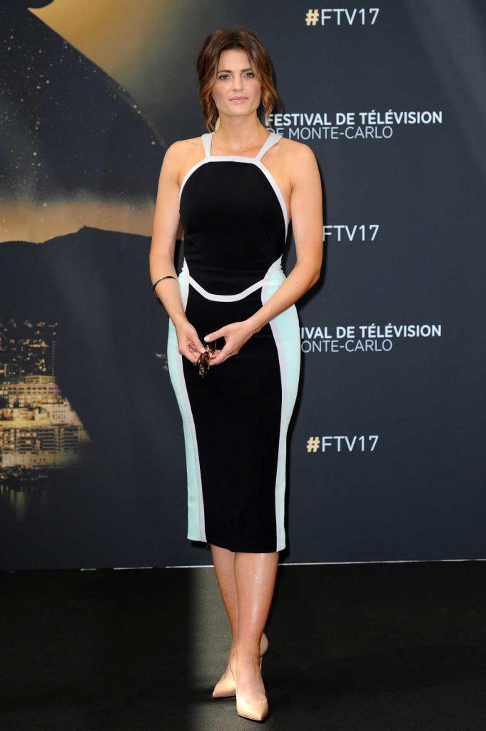 Stana Katic at the 57th Monte Carlo Television Festival in Monaco 06/19/2017-1