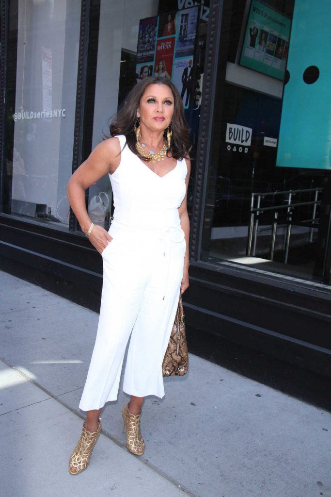 Vanessa Williams Visits AOL Build Series in New York 05/31/2017-1