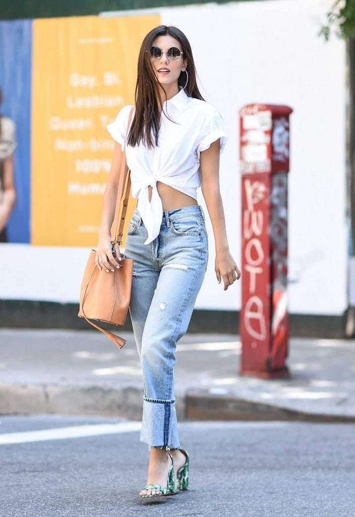Victoria Justice Was Seen on the Streets of Tribeca in NYC 06/21/2017-1