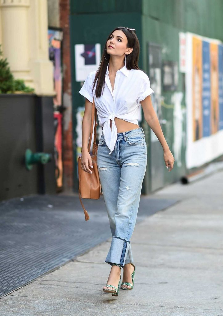 Victoria Justice Was Seen on the Streets of Tribeca in NYC 06/21/2017-2