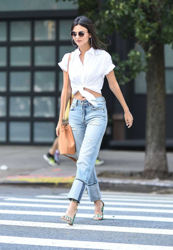 Victoria Justice Was Seen on the Streets of Tribeca in NYC 06/21/2017-3