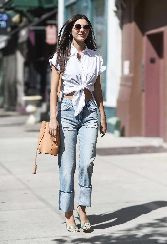 Victoria Justice Was Seen on the Streets of Tribeca in NYC 06/21/2017-4