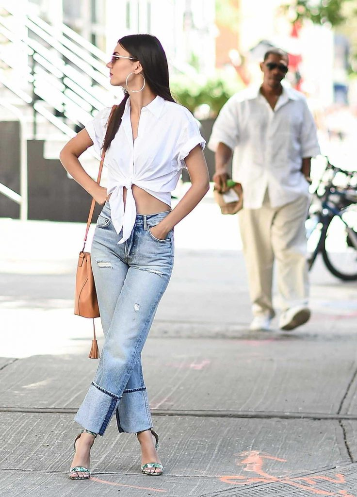 Victoria Justice Was Seen on the Streets of Tribeca in NYC 06/21/2017-5